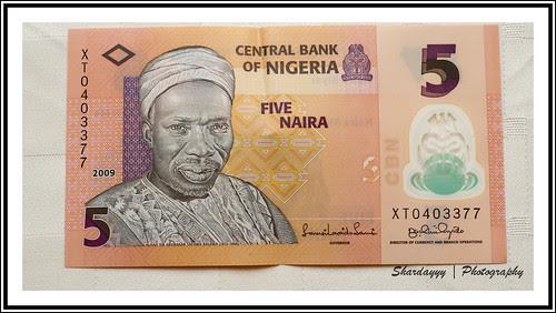 263/365 - 06/18/10 [365 Days @ 50mm] - Nigeria - Five Naira (₦5)