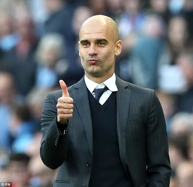 City manager Pep Guardiola is also making a return to his former club on Wednesday night