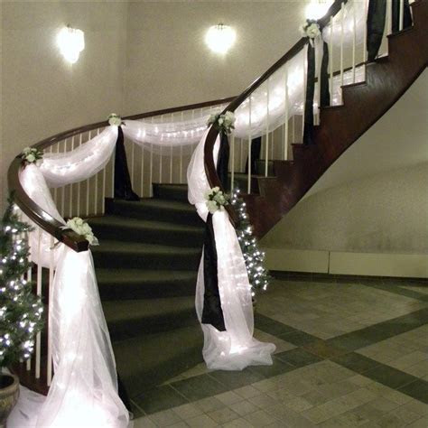 decorate staircase for wedding   Wedding & Event