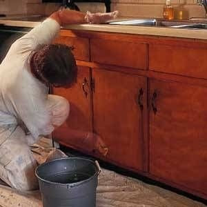How to Paint Over Stained Kitchen Cabinets