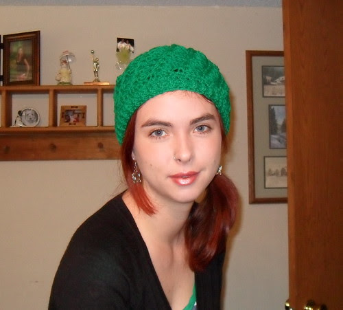 My green hat