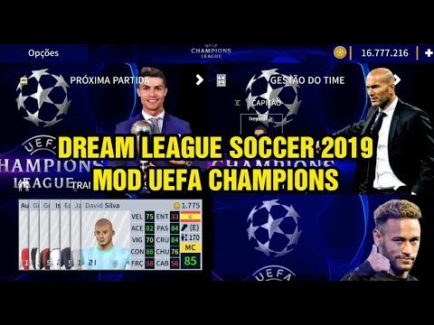Dream League Soccer 2019 MOD UEFA Champions League Android Offline 335MB Best Graphics