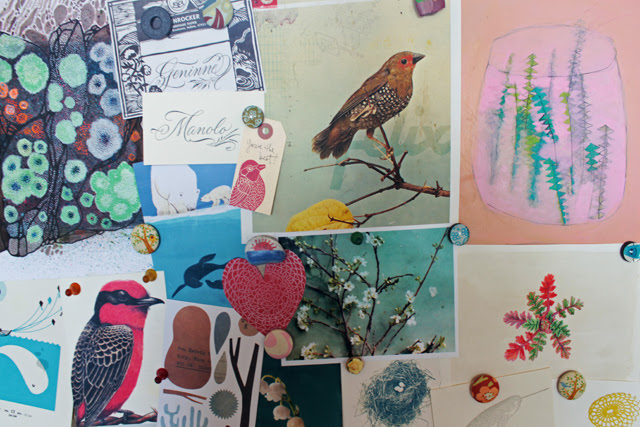 Inspiration board is up!