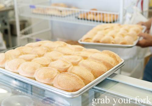 Pandesal salt bread at Pandesal Bakehouse, Beverly Hills