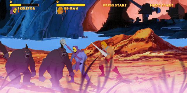 He-Man and Skeleto - Mundo Nerd