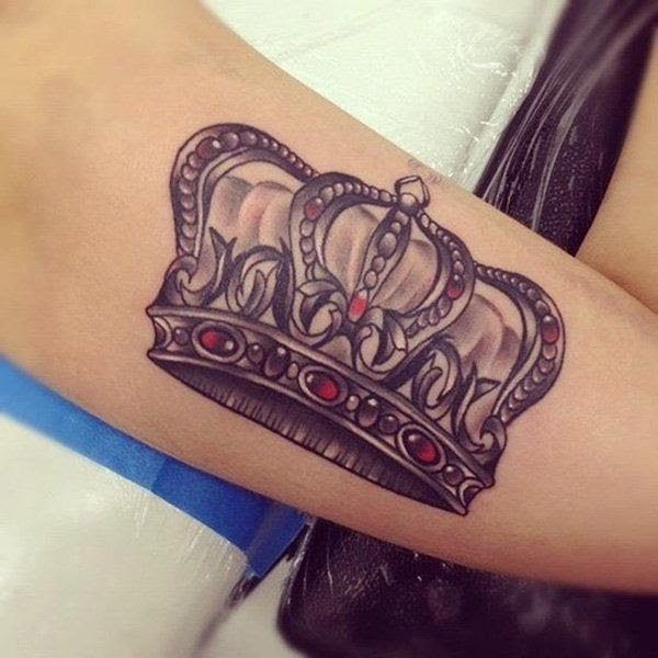23 King Crown Tattoos With Glorious Meanings Tattoos Win