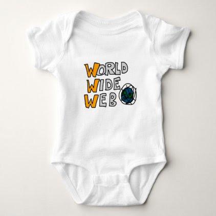 World Wide Web Baby Bodysuit