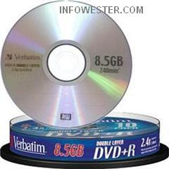 DVD+R Double Layer