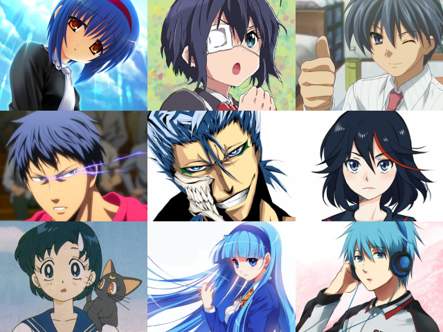 35 Famous Anime Characters With Blue Hair Names And Pictures