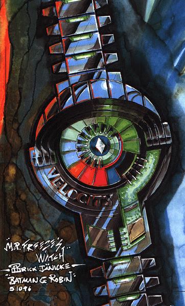 "Batman & Robin (1997) ""Mr. Freeze's Watch"" by Patrick Janicke"