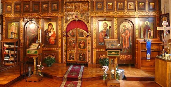 interno chiesa ortodossa diaspora