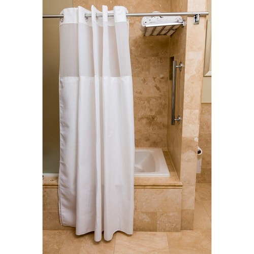Get Inspired For White Bathroom Shower Curtains images
