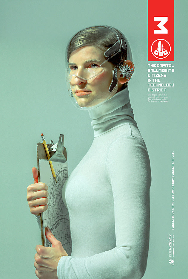 The Hunger Games Mockingjay Posters District