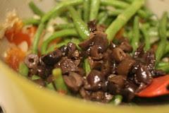 Warm Green Bean dish