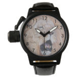 lion roaring big cat wildlife realist art watches