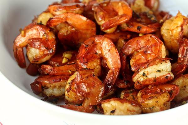 Malaysian Style Stir-Fried Turmeric Shrimp | Wok Wednesdays