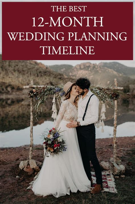 The Best 12 Month Wedding Planning Timeline   Junebug Weddings