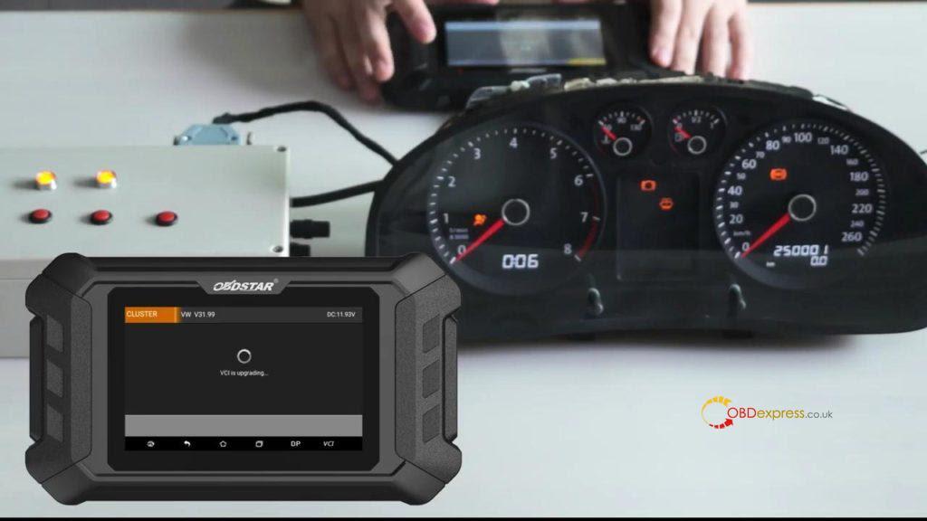 Obdstar Odo Mästare VW Passat vägmätare Correction 04