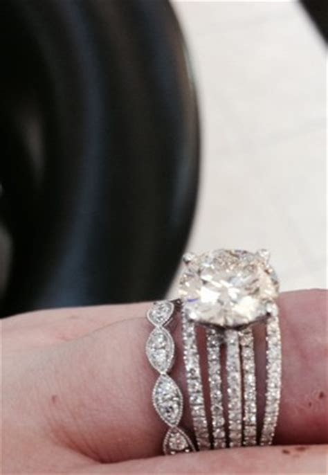 mismatched wedding bands   Weddings, Beauty and Attire