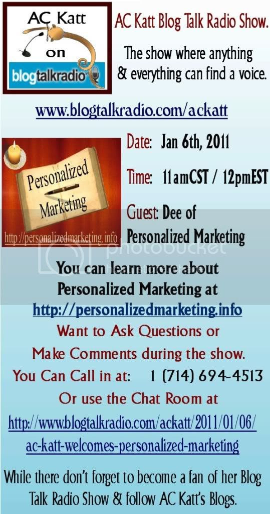 Personalized Marketing on the AC Katt show