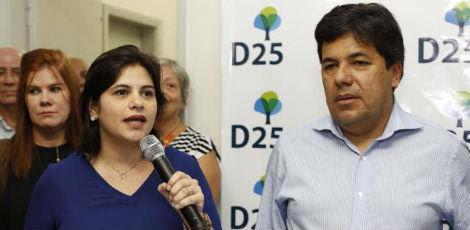 Pré-candidata disse que vai apostar em uma campanha marcada pela criatividade / Foto: Cecilia Sá/Divulgação