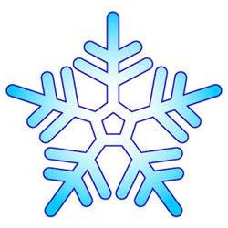 雪の結晶無料イラスト素材p51