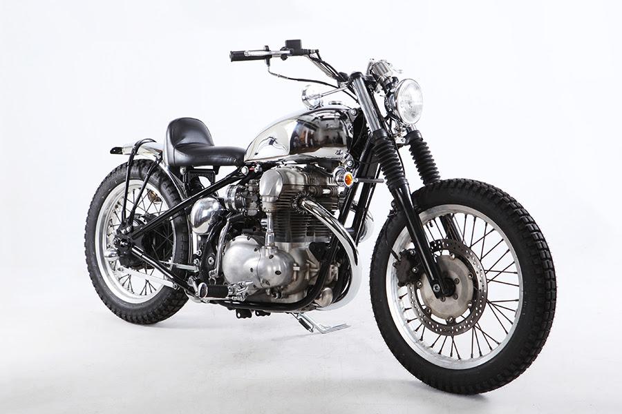 Kawasaki W650 Custom By Motor Rock Bikebound
