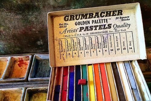 grumbacher golden palette by -barbara carroll- #flickstackr  Flickr: http://flic.kr/p/nfafiQ