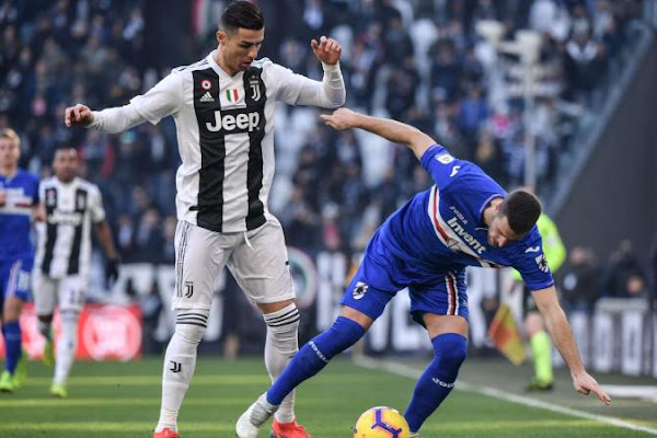 8f1d2d2c72a Juve vs. Samp  Player Ratings - Ronaldo decisive