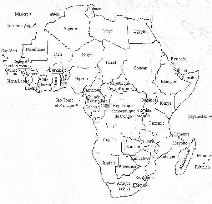 Cartina Dell Africa Da Colorare.Disegni Bambini Africani Da Colorare Coloradisegni