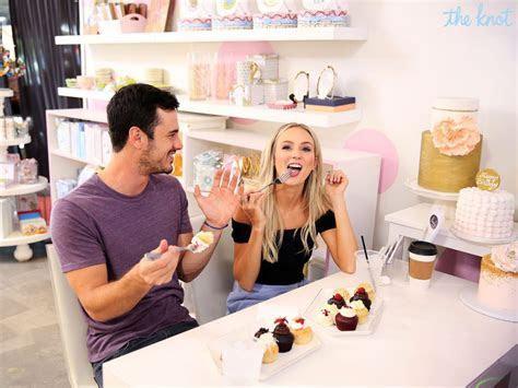 Ben Higgins and Lauren Bushnell Go Cake Tasting: Exclusive