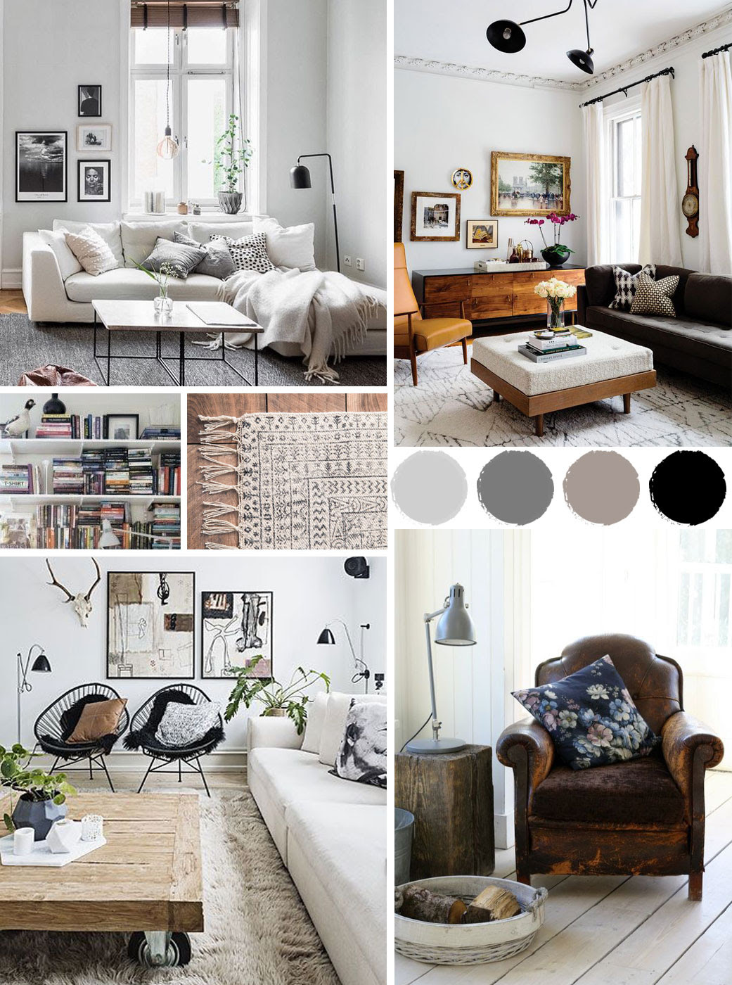 How to Redesign a Living Room - Interior Decorating Colors ...