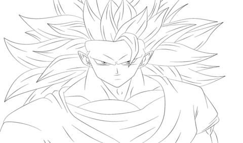 Ausmalbild Goku Aus Dragon Ball Z Ausmalbilder Kostenlos Zum Ausdrucken