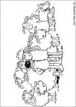 Ausmalbilder von Shaun das Schaf zum Drucken