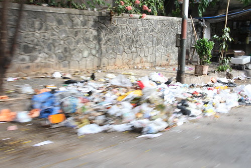 Good Morning ..I Flow With The Garbage of My Time .. by firoze shakir photographerno1