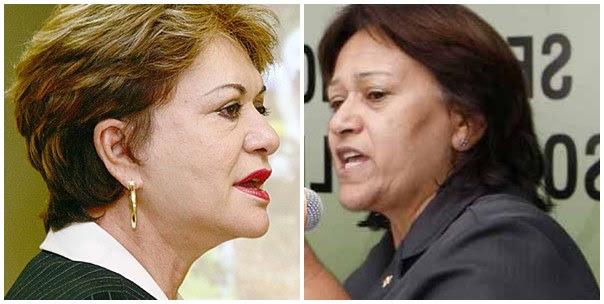 Wilma e Fatima Bezerra