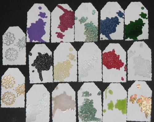 Embossing Powders 011