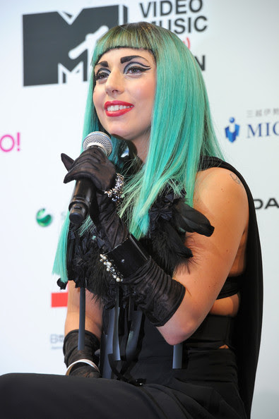 Lady Gaga Lady Gaga attends the MTV Video Music Aid Japan Press Conference at Billboard Live Tokyo on June 23, 2011 in Tokyo, Japan.