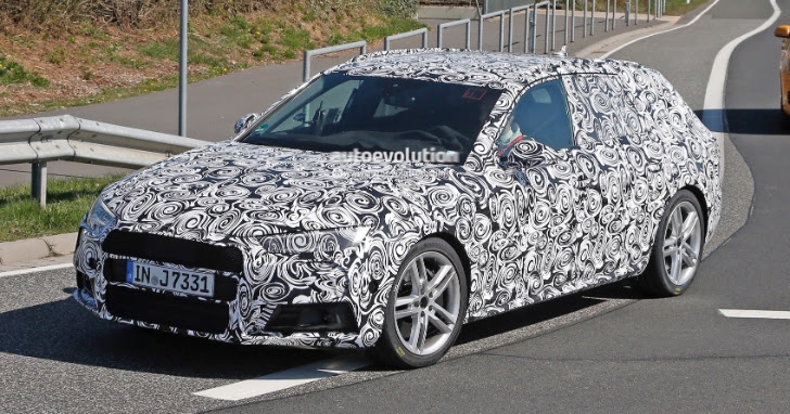 2017 Audi S4 Avant and Sedan Spotted Testing on the Nurburgring for ...