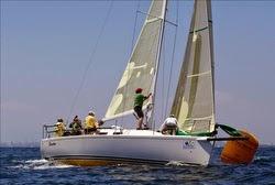 J/109 Electra sailing Long Beach Race Week