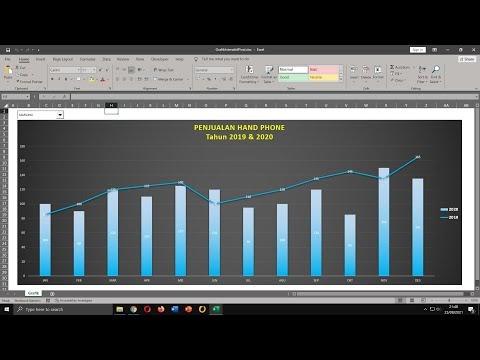 Cara Membuat Grafik Keren dan Interaktif di Excel