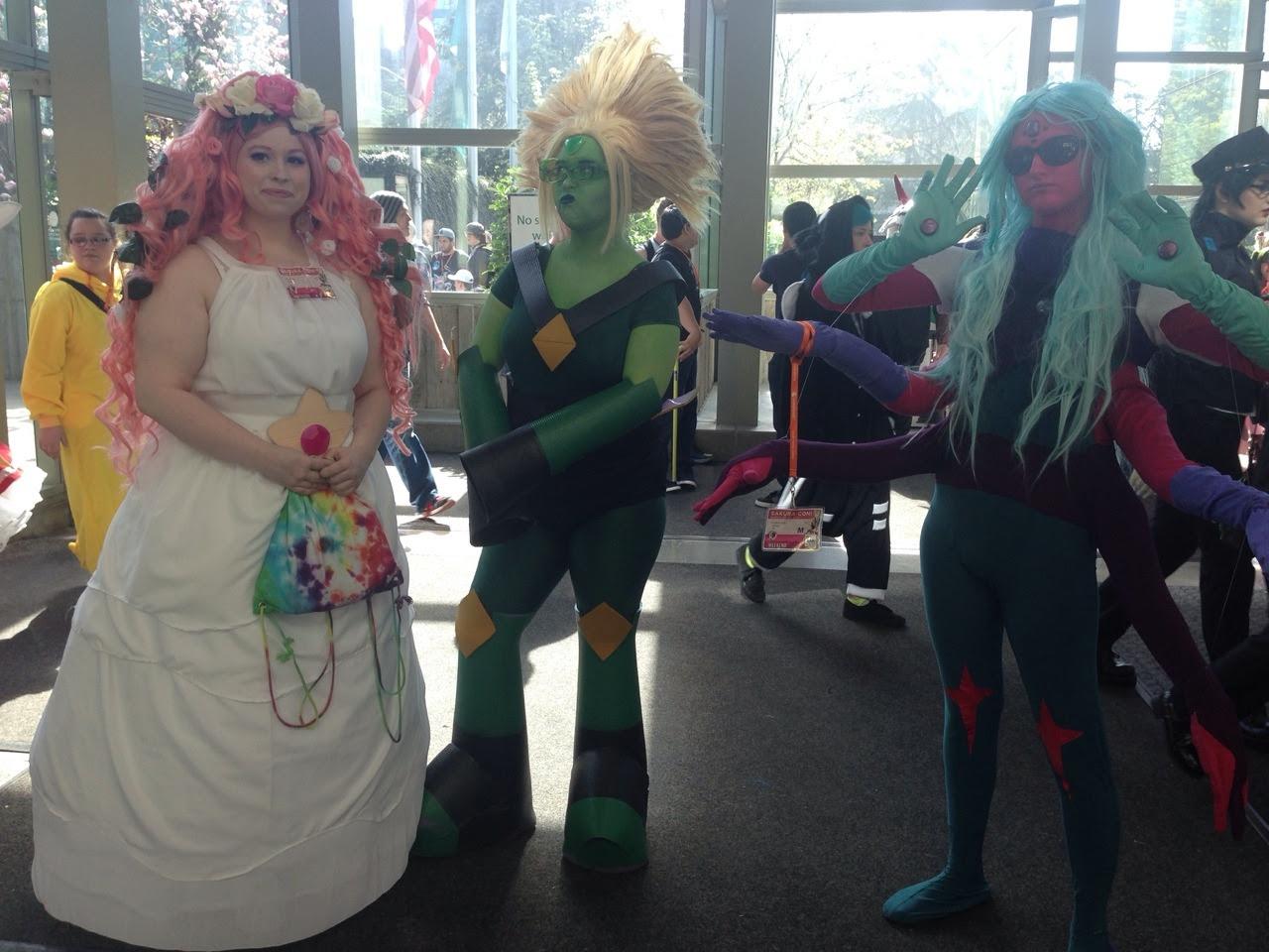 Steven Universe Cosplay at Sakura Con 2016