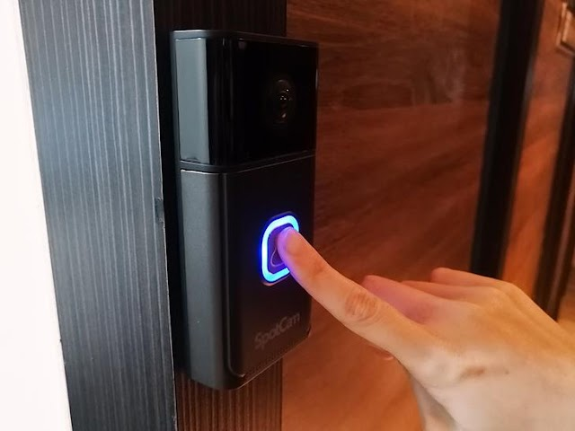 【SpotCam Ring 2 智能門鈴】為你守護家門 攝影機搭配無線門鈴