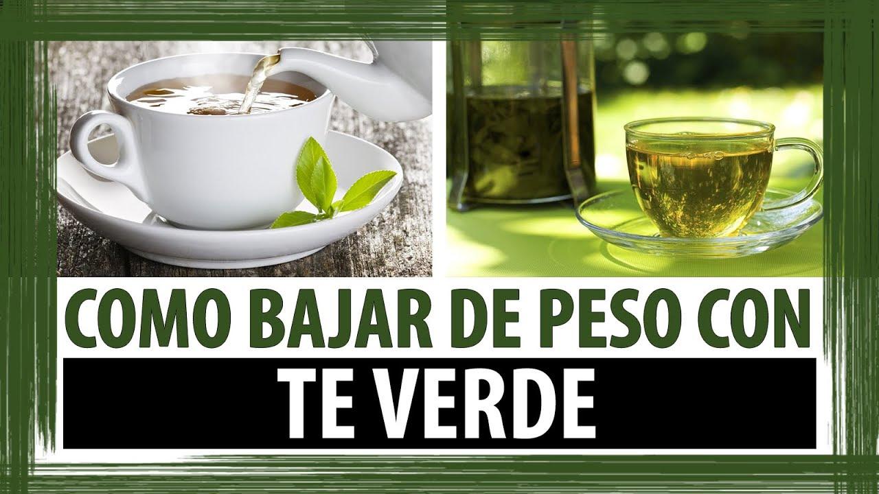 como hago el te verde para adelgazar