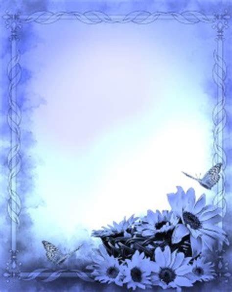 Blue Wedding Invitation Background Designs Free Download 3
