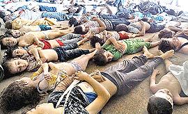 Orrore a Damasco: la strage dei bambini