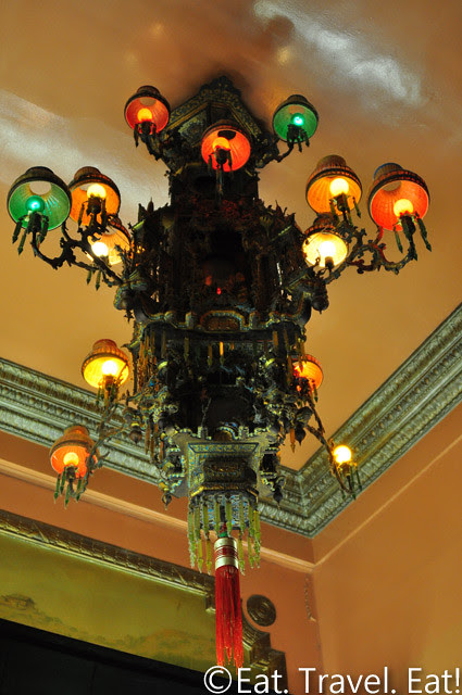 Far East Cafe- Chinatown, San Francisco, CA: Chandeliers
