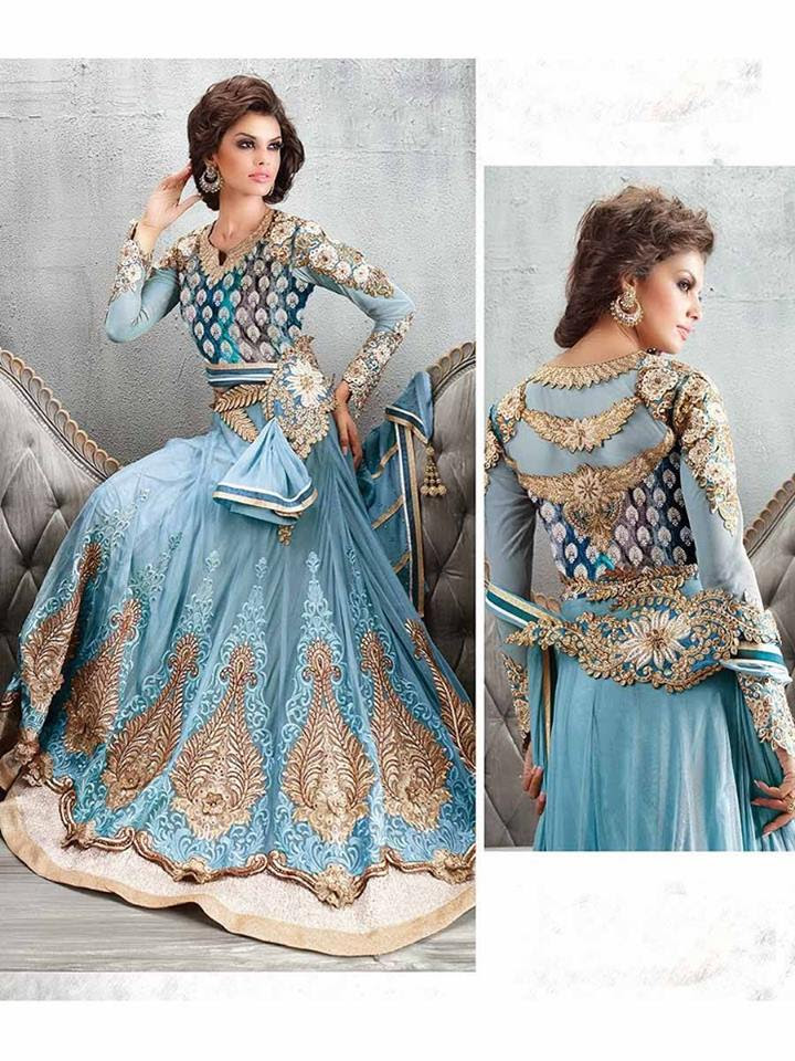 beautiful indian party wear anarkali dresses collection