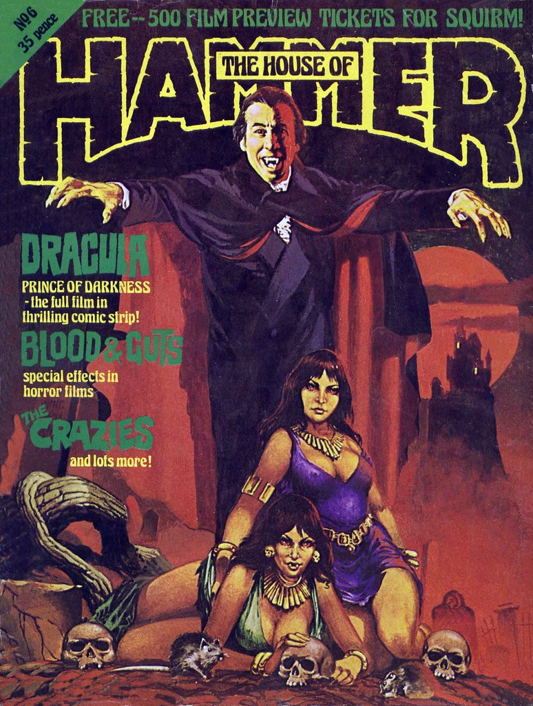 House Of Hammer Magazine - Issue 6 (1977)