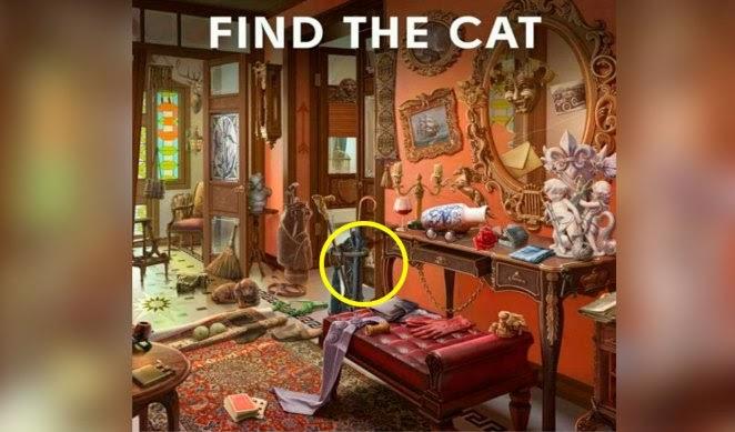 ¿Logras encontrar al gato escondido en la pintura? El nuevo reto visual que pocos superan